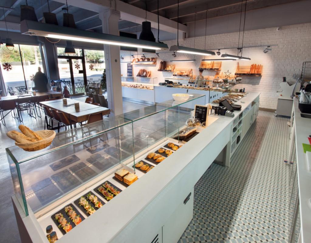 Agencement boulangerie-pâtisserie L'Atelier