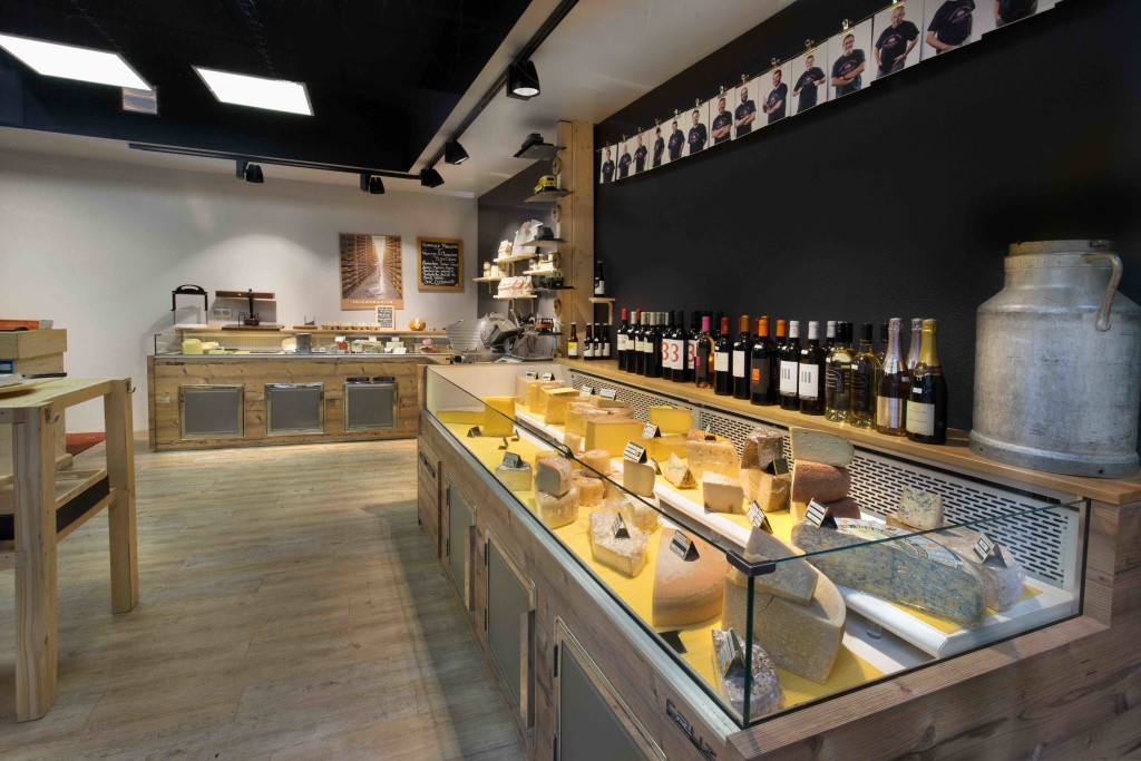 Fromagerie Bousquet by nakide - agencement fromagerie - agencement fromager - agencement crémerie - décoration fromager