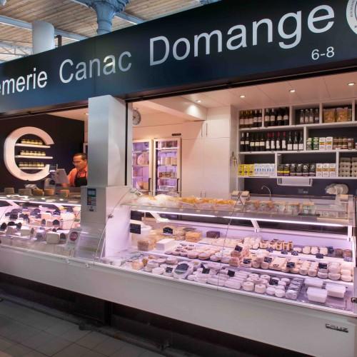 Crémerie Canac à Toulouse. Un agencement de fromagerie par nakide