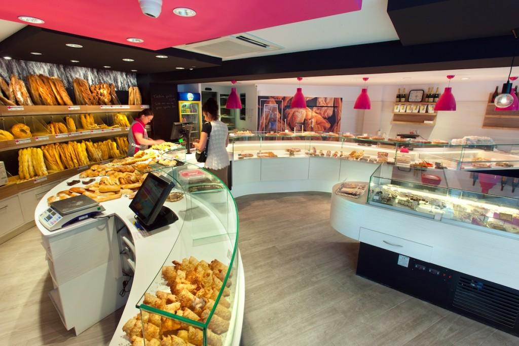 Au Vieux Fournil par nakide circulation boutique - Au Vieux Fournil par nakide - agencement boulangerie - pâtisserie - décoration