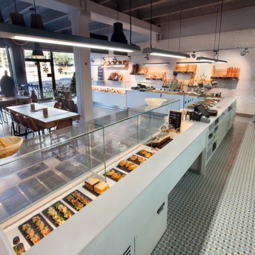 Agencement boulangerie-pâtisserie L'Atelier-architecture