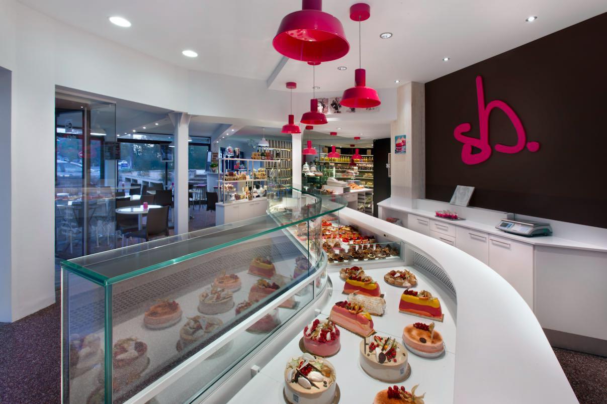 L'agencement d'un magasin boulangerie pâtisserie Patachou