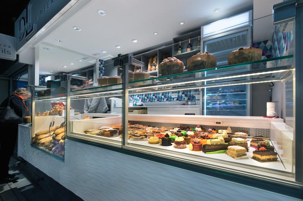 Didier Le Meur et Fils nakide Toulouse vitrine nakide - agencement boulangerie - agencement pâtisserie - décoration pâtisserie
