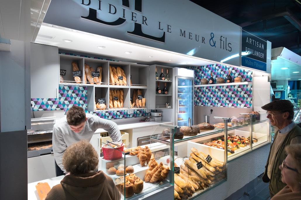 Didier Le Meur et Fils nakide Toulouse devanture - agencement boulangerie - agencement pâtisserie - décoration pâtisserie