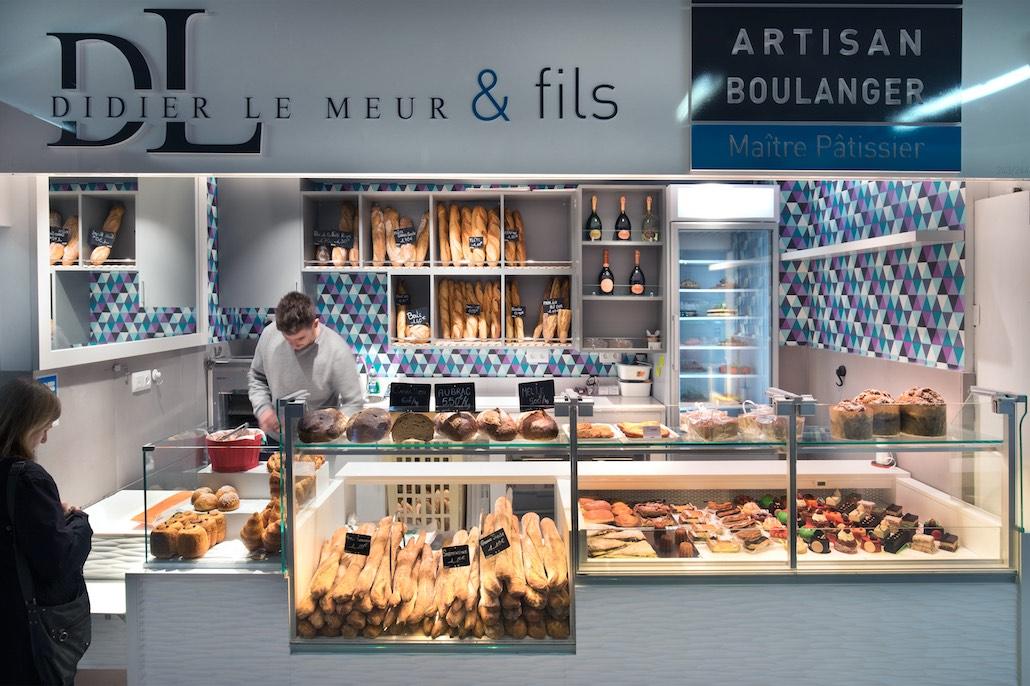 Didier Le Meur et Fils nakide - agencement boulangerie - agencement pâtisserie - décoration pâtisserie