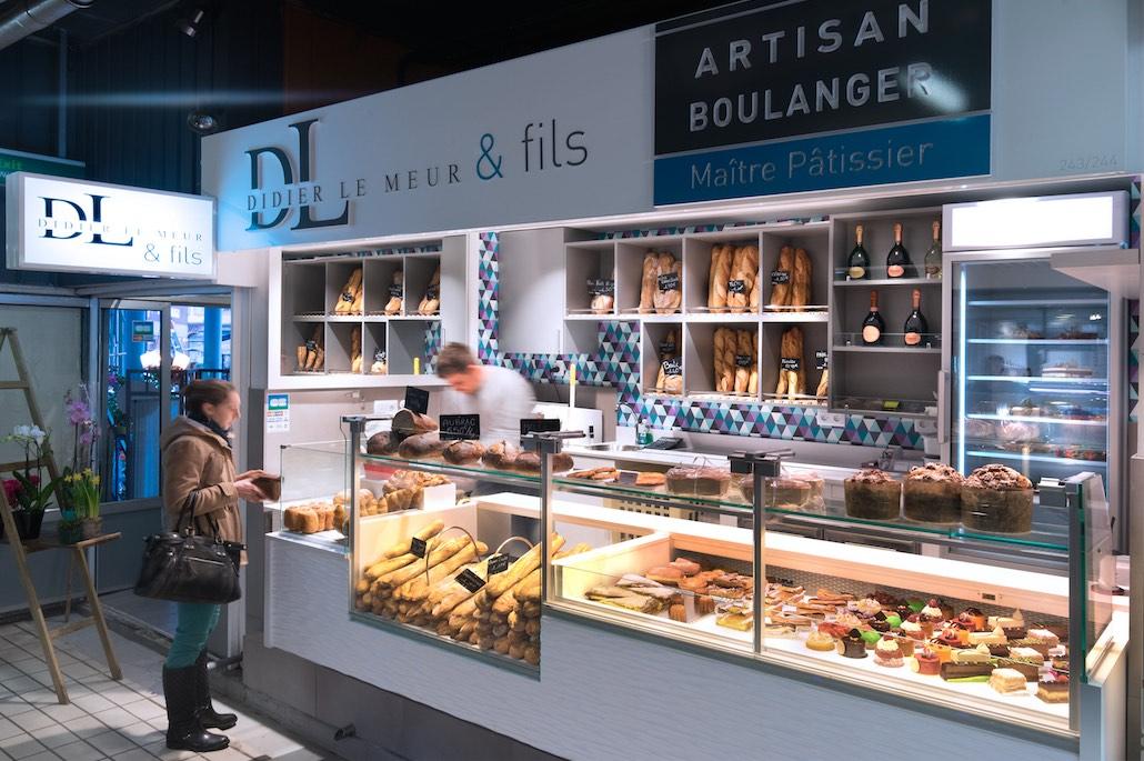 Didier Le Meur et Fils nakide Toulouse Victor Hugo - agencement boulangerie - agencement pâtisserie - décoration pâtisserie