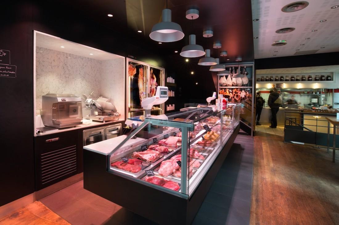 J'Go boucherie nakide retail architecture