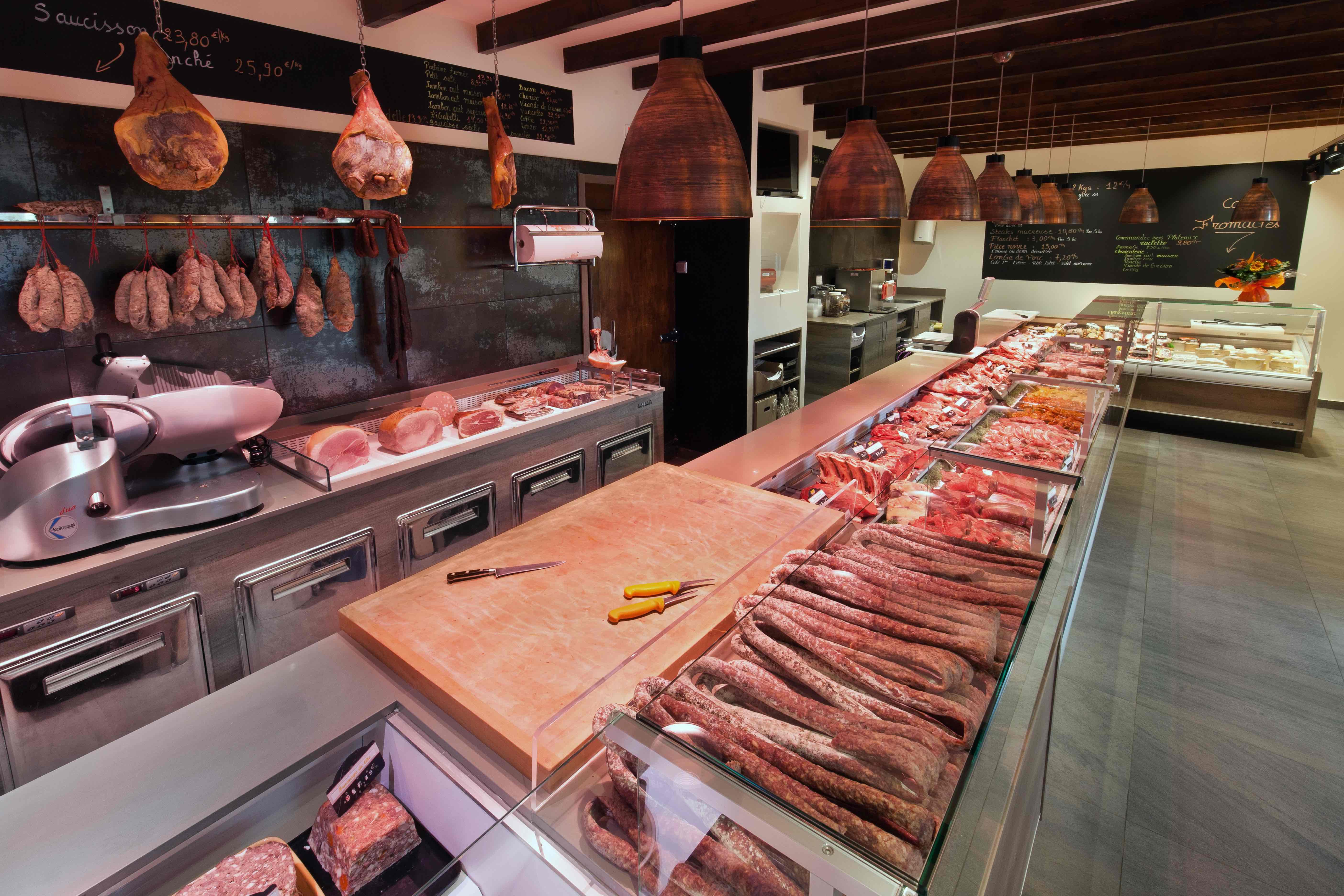 Charolais des Alpes 11 by nakide agencement boucherie - design boucherie