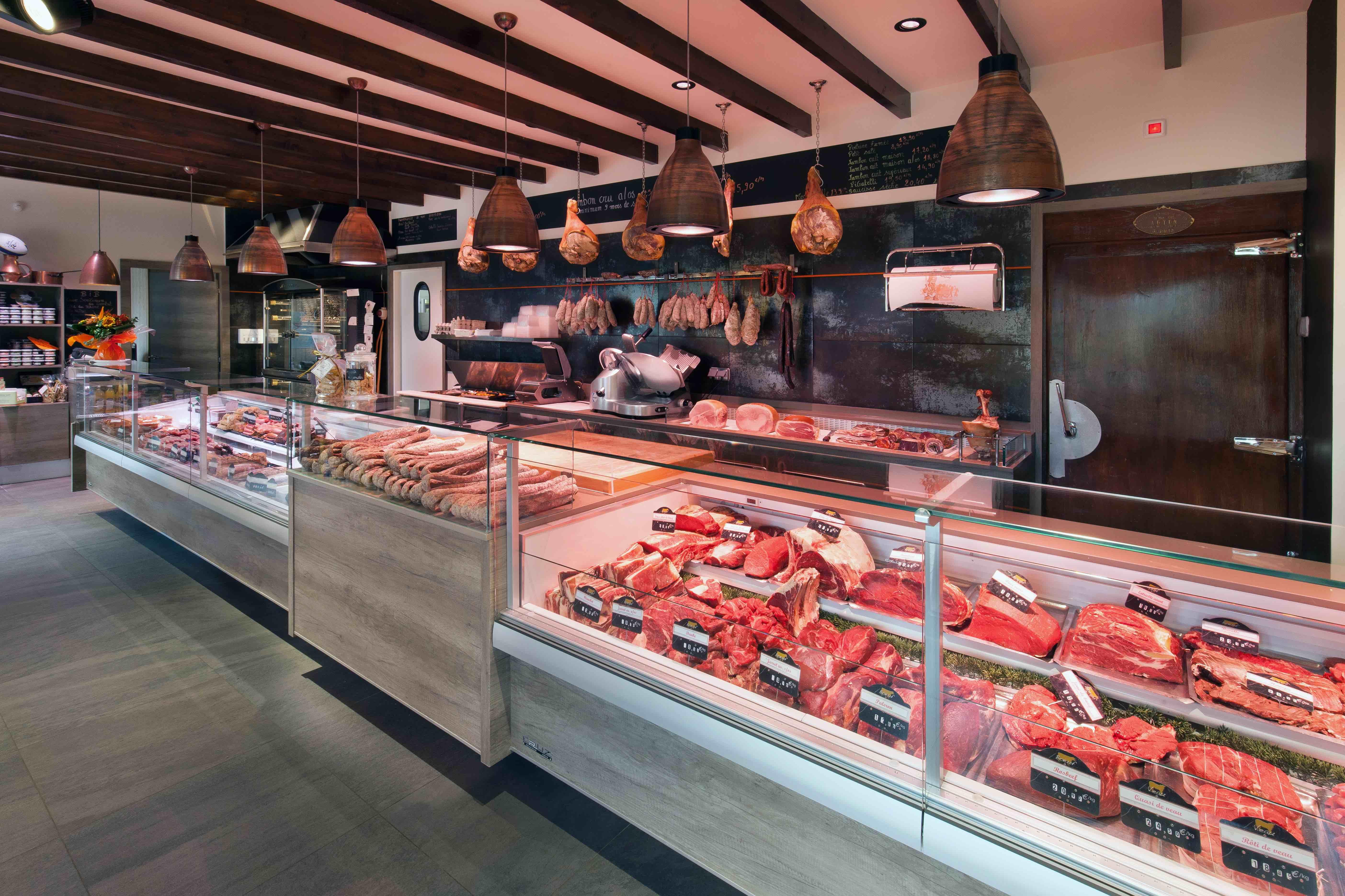 Charolais des Alpes 5 by nakide - agencement boucherie - design boucherie - retail shop - retail architecture