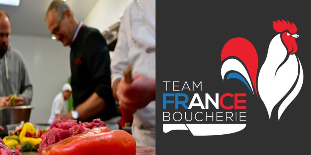 Team France Boucherie couverture