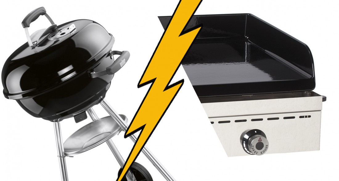 L'enquête de l'été : plancha ou barbecue ? 1