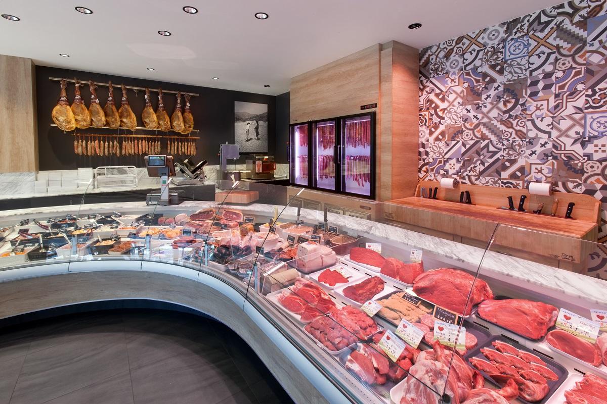 agencement-boucherie-charcuterie-nakide-vitrine-refrigeree-viande