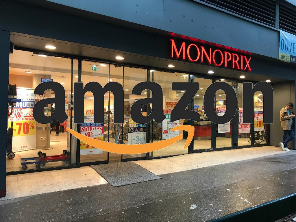 Monoprix-Amazon un partenariat important dans la livraison à